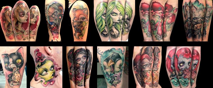 Kelly doty for Tattoo shops in salem ma
